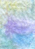 Bluish Watercolor Canvas Texture
