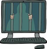 Prisoner Inside A Computer