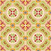 Seamless Colourful Ornament Tiles