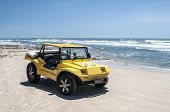 Yellow Beach Buggy