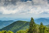 picture of appalachian  - View of Appalachian mountains in north Georgia - JPG