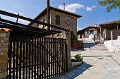 picture of macedonia  - Traditional greek village at central Macedonia - JPG