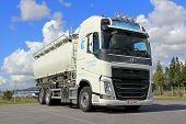 Volvo Tank Truck For Food Transport