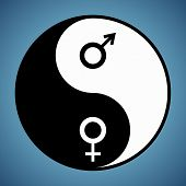 Yin Yang Man And Woman