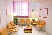 picture of anteroom  - Friendly anteroom of a private clinic lobby - JPG