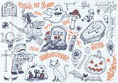 Halloween fun doodles #2