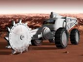 Постер, плакат: Mining On Mars