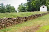 Preserved Section Of Wall From The Battle Of Fredricksburg