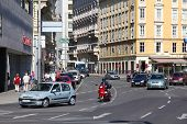 Traffic In Vienna