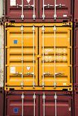 Container Orange Color
