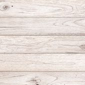White Wood Plank Brown Texture Background