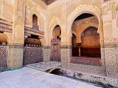 The Bou Inania Madrasa In Fes, Morocco