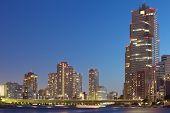 Tokyo cityscape ,Sumida river