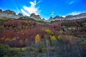 Faja de Pelay in Ordesa valley Pyrenees Huesca Aragon Spain