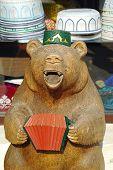 Bear In Skullcap
