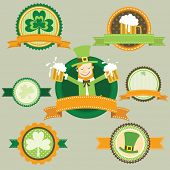 St.Patrick's Day frame banner elements
