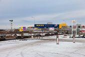 Samara, Russia - December 1, 2013: Ikea Samara Store. Ikea Is The World's Largest Furniture Retailer
