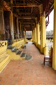 Terrace Inside  Buddhist Temple