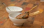 Turkish Adana Kebab With Coriander
