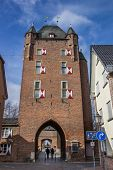 Klever Tor In The Old Roman City Of Xanten