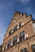 Traditional Gable Of An Old House In Xanten