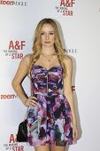 LOS ANGELES - FEB 22:  Greer Grammer at the Abercrombie & Fitch 'The Making of a Star' Spring Campai