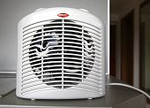 Overheated Electric Fan Heater