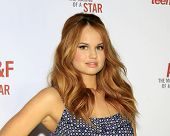 LOS ANGELES - FEB 22:  Debby Ryan at the Abercrombie & Fitch 'The Making of a Star' Spring Campaign
