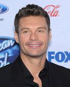 LOS ANGELES - FEB 20:  Ryan Seacrest arrives to the American Idol Top 13 Finalists  on February 20,