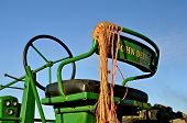 John Deere Tractor Seat