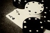 Double Ace In Poker
