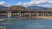 Togetsukyo Bridge in Kyoto