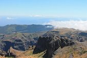 Pico Do Areeiro Mountain