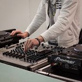 Dj Set At Mipap Trade Show In Milan, Italy