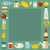 Food frame.