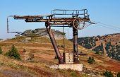old funicular mountain Jeseniky, Czech Republic, Europe