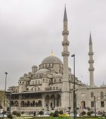 Mosque of Sultan Walid. Istanbul Turkey