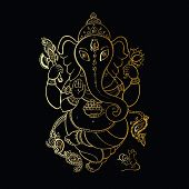 picture of hindu  - Hindu God Ganesha - JPG