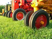 Red Tractor Wheels