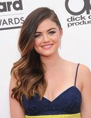 LAS VEGAS - MAY 18:  Lucy Hale arrives to the Billboard Music Awards 2014  on May 18, 2014 in Las Vegas, NV.