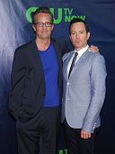 LOS ANGELES - JUL 17:  Mathew Perry & Thomas Lennon arrives to the CBS-CW-Showtime Summer TCA Press