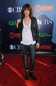 LOS ANGELES - JUL 17:  Kate Moennig arrives to the CBS-CW-Showtime Summer TCA Press Tour 2014  on July7, 2014 in West Hollywood, CA.