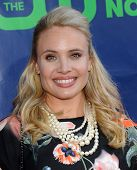 LOS ANGELES - JUL 17:  Leah Pipes arrives to the CBS-CW-Showtime Summer TCA Press Tour 2014  on July
