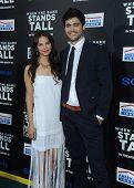 LOS ANGELES - AUG 04:  Matthew Daddario & Ester Kim arrives to the