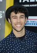 LOS ANGELES - AUG 04:  Max Schneider arrives to the