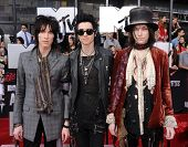 LOS ANGELES - APR 13:  Palaye Royale arrives to the 2014 MTV Movie Awards  on April 13, 2014 in Los
