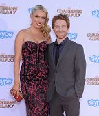 LOS ANGELES - JUL 21:  Seth Green & Clare Grant arrives to the