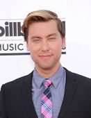 LAS VEGAS - MAY 18:  Lance Bass arrives to the Billboard Music Awards 2014  on May 18, 2014 in Las V