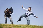 competition battle of men