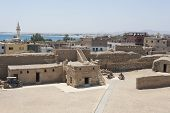 Ancient Fort In Old Egyptian Town